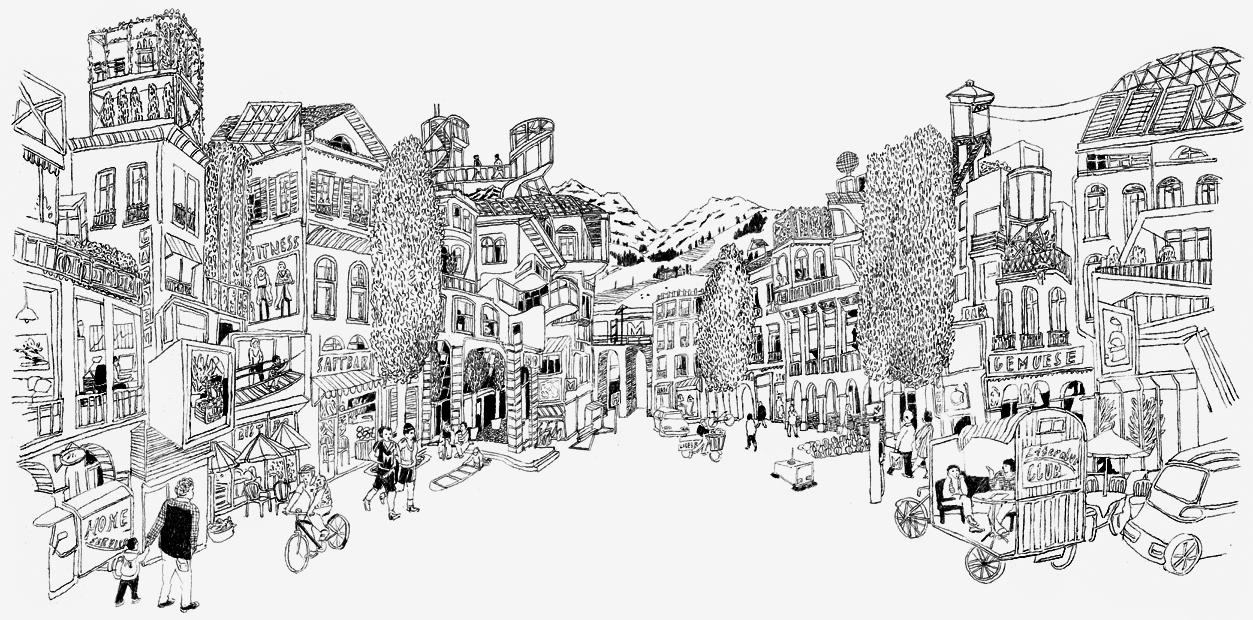 """2012 / MIGROS """"Future Town"""""""
